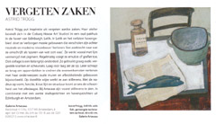 Expositie Astrid Tr�gg in Tableau van april 2009
